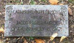 """Catherine """"Kittie"""" <I>Moss</I> Fairey"""