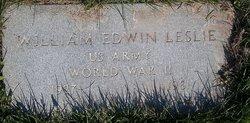 William Edwin Leslie