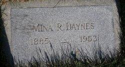 Mina <I>Rogers</I> Daynes