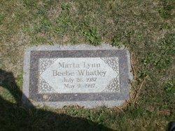 Marta Lynn <I>Beebe</I> Whatley