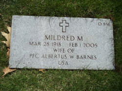 Mildred M <I>Elder</I> Barnes