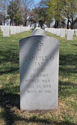 Carlyle O Fay