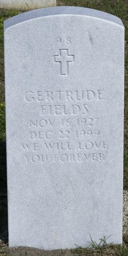 Gertrude Fields