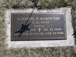 PFC LuVerne Vernon Anderson