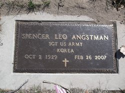 Sgt Spencer Leo Angstman