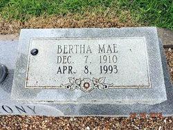 Bertha Mae <I>Bishop</I> Anthony