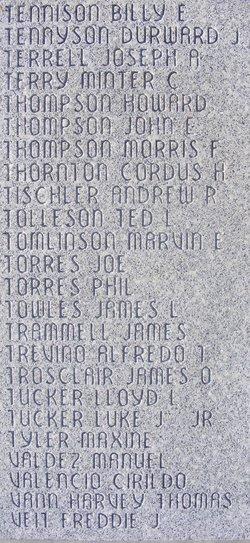Sgt Marvin Ellis Tomlinson