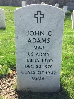 MAJ John C. Adams, Jr