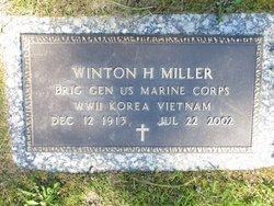 Winton H Miller