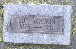 Lulu <I>Brown</I> Atkin