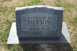 "Katherine ""Kit"" <I>Durham</I> Pierson"
