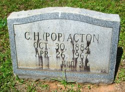 """Charles Henry """"Pop"""" Acton"""