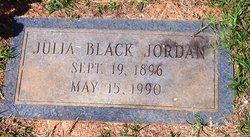 Julia <I>Black</I> Jordan