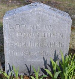 Loring W Pangborn
