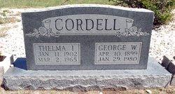 George Wesley Cordell