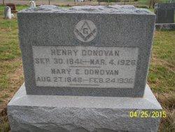 Mary Elizabeth <I>White</I> Donovan