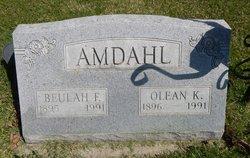 Beulah <I>Franklin</I> Amdahl