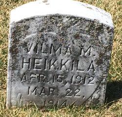 Vilma M Heikkila