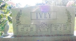 "Linder ""Dick"" Ivey"