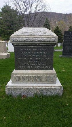 Capt Joseph Henry Vanderslice
