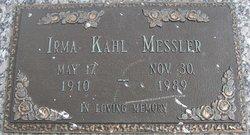 Irma Corraine <I>Kahl</I> Messler
