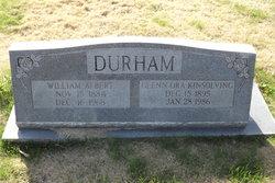 Glenn Ora <I>Kinsolving</I> Durham