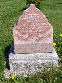 Margaret A Clauson 1850 1865