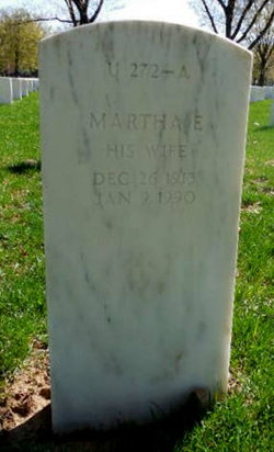 Martha E <I>Mellan</I> Cunningham