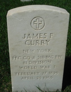 James F Curry