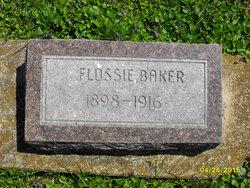 Flossie <I>Blue</I> Baker