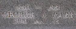 George Washington Rabb