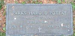 Parks Harold Poteat