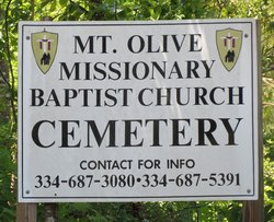 Mount Olive Missionary Baptist Church Cemetery