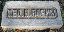 George H Roehm
