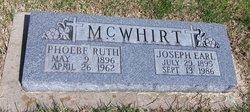 Joseph Earl McWhirt