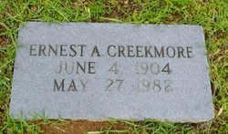 Ernest A Creekmore
