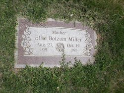 Elise <I>Botzum</I> Miller