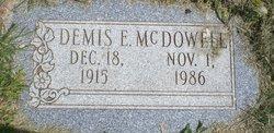 Demis Ethel <I>Davie</I> McDowell