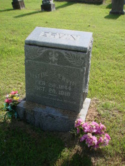 "Martha Jane ""Mattie"" <I>Vaught</I> Ervin"