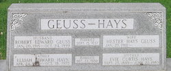 Evie <I>Curtis</I> Hays