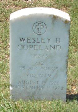 Wesley B Copeland