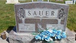 Mary <I>Engelman</I> Sauer