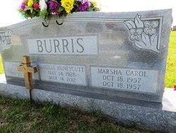 Margaret Lucille <I>Huneycutt</I> Burris