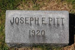Joseph E Pitt