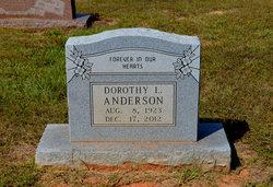 Dorothy L <I>Childs</I> Anderson