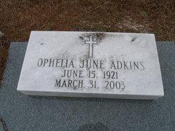 Ophelia June Adkins