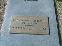 "Loyce Eugene ""Gene"" Alberson"