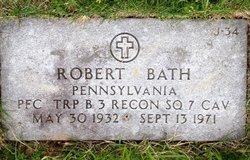 PFC Robert Bath