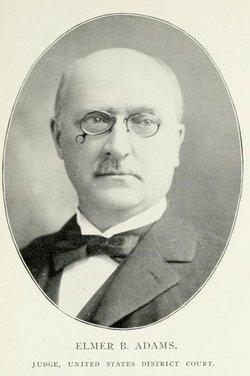 Judge Elmer Bragg Adams