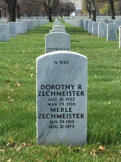 Dorothy R <I>Karlen</I> Zechmeister